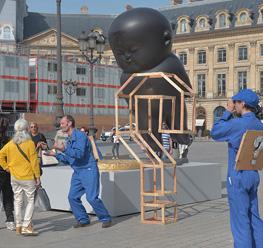 «l'art, est-il utile ?» place vendôme…